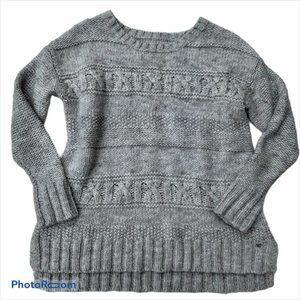 AMERICAN EAGLE gray wool blend sweater. SZ med
